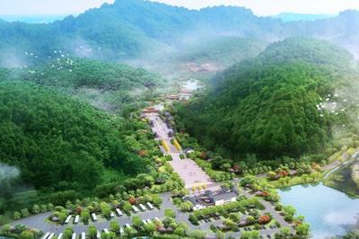 景区道路山体护坡绿化